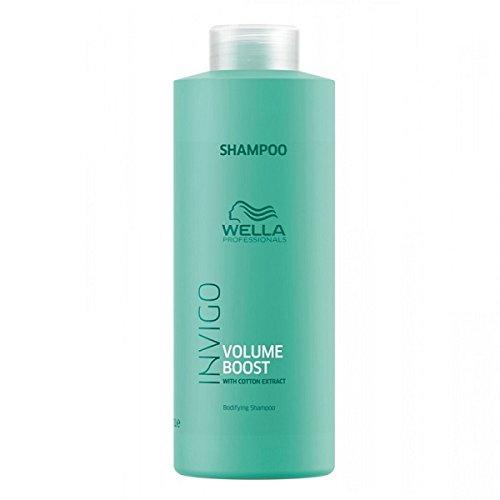 Wella Invigo Volume Boost Bodifying Shampoo 1000 ml Nährendes Shampoo für mehr Volumen & Fülle