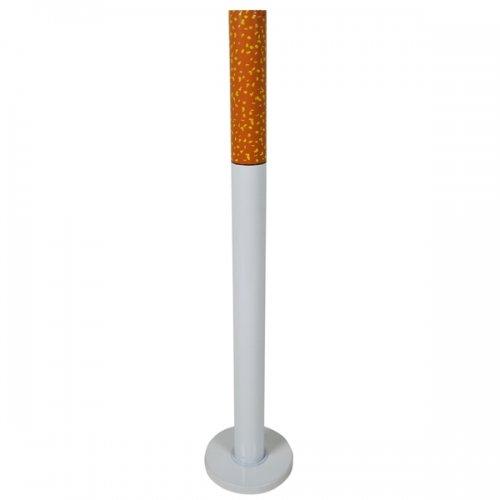 Standaschenbecher in Zigarettenform mit Fuß Aschenbecher für Draußen Outdoor Ascher Zigarette NEU OVP