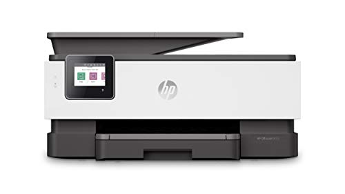 HP OfficeJet Pro 8022 Multifunktionsdrucker (Drucken, Scannen, Kopieren, Fax, WLAN, LAN, Duplex, HP Instant Ink, A4, HP ePrint, Airprint, mit 2 Probemonaten HP Instant Ink Inklusive) basalt