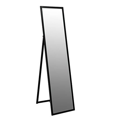 Standspiegel mit Metallrahmen - 1370 mm - Schwarz