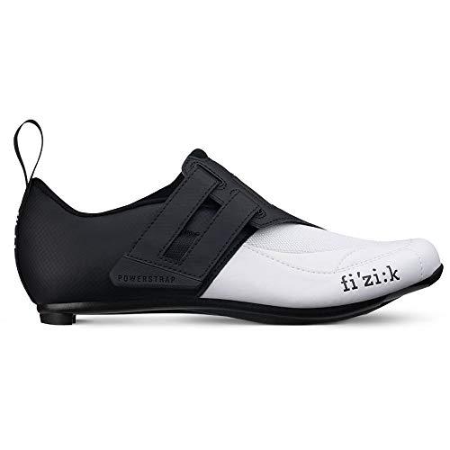 fizik Transiro Powerstrap R4 Triathlonschuhe schwarz/weiß Schuhgröße EU 44 2019 Rad-Schuhe Radsport-Schuhe