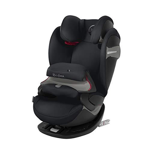 CYBEX Gold 2-in-1 Kinder-Autositz Pallas S-Fix, Für Autos mit und ohne ISOFIX, Gruppe 1/2/3 (9-36 kg), Ab ca. 9 Monate bis ca. 12 Jahre, Lavastone Black