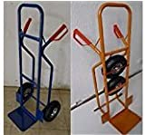 Profi Sackkarre Transportkarre Stapelkarre 250kg belastbar Blau