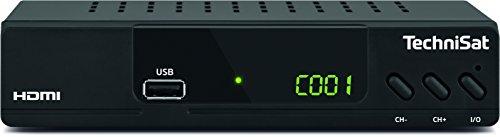 TechniSat HD-C 232 HDTV-Receiver (für digitales Kabelfernsehen, HDMI, SCART, USB 2.0, Mediaplayer, S/PDIF) Schwarz