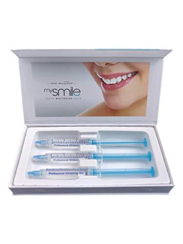 MySmile Gel - Das Original Zahnaufhellungsgel | 3x Nachfüllgel | Für Weißere Zähne | Professionelles Teeth Whitening Gel | Refill Bleaching Gel Gegen Gelbe & Graue Zähne