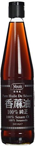 YEO's Sesamöl, pur / 100 % ), 1er Pack (1 x 640 ml)