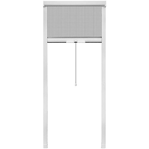 vidaXL 80x170 cm Fliegengitter Insektenschutzrollo Insektenschutz für Fenster