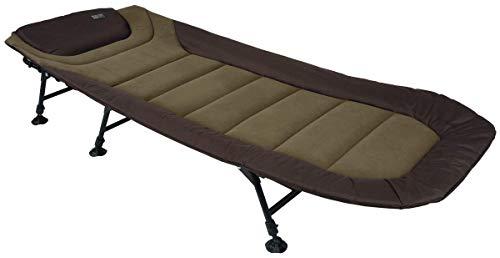 Fox Eos 1 Bed 209x80cm - Angelliege zum Ansitzangeln, Karpfenliege zum Karpfenangeln & Wallerangeln, Liege zum Angeln, Campingbett