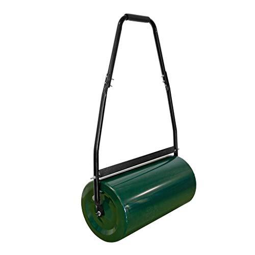 GEORGES Gartenwalze Rasenwalze Grün 48 Liter füllbar mit Sand oder Wasser