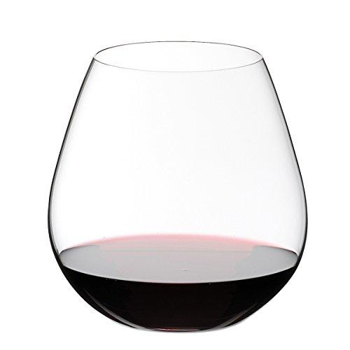 RIEDEL Rotweinglas-Set, 2-teilig, Für Rotweine wie Pinot Noir und Nebbiolo, 690 ml, Kristallglas, O Wine Tumbler, 0414/07