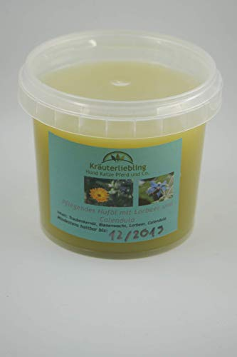 Pflegendes Huföl mit Lorbeer und Calendula 250 ml