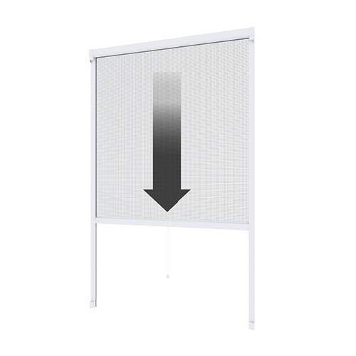 pro insect Insektenschutz-Rollo PRO für Fenster 200x160cm, alu-eloxiert/silber