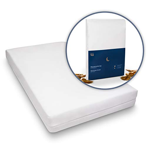 Blumtal Matratzenbezug für Allergiker, Milbenbezug - Matratzenschutz, atmungsaktiv, 90x200cm, 1er Set