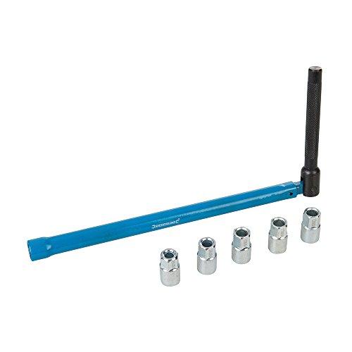Silverline 355555 Wasserhahn-Montagewerkzeug, Mehrfarbig, 8-12 mm