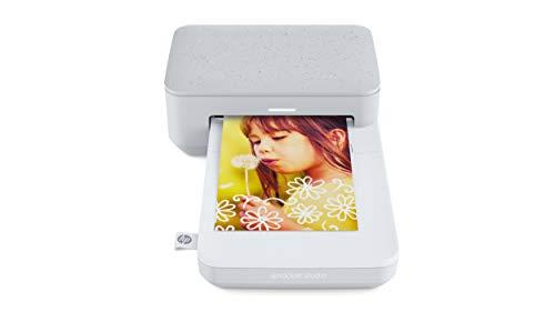 HP Sprocket Studio Fotodrucker (Bluetooth, 10 x 15 cm Ausdrucke) luna pearl