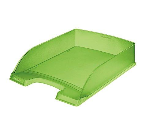 Leitz 52270056Polystyrol grün Becken Aufbewahrungsschuppen Büro–Becken Aufbewahrungsschuppen Büro (Polystyrol, grün, A4, 255mm, 35,7cm, 70mm)