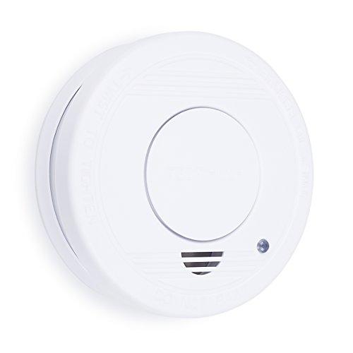 Smartwares TÜV geprüfter Rauchmelder/Feuermelder, DIN EN 14604 zertifiziert, RM250