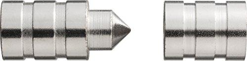 ABUS Türaushebesicherung / Scharnierseitensicherung TAS82, vernickelt, 00624