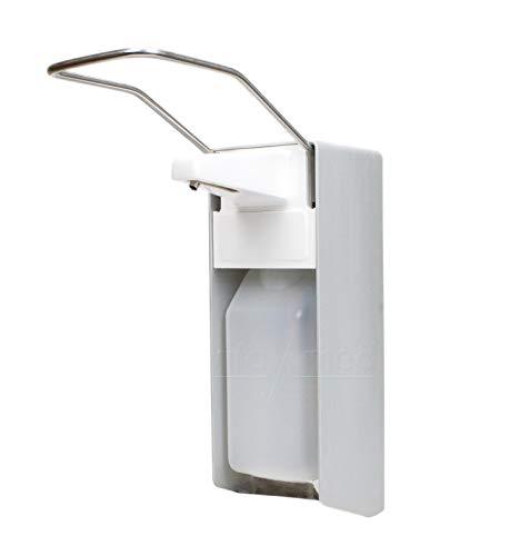 Wandspender 'premium line' aus Aluminium Ausführung 500ml, inkl. Edelstahlpumpe, Universalspender, Seifen- und Desinfektionsspender der Firma Vitamed Matthias Quinger e.K. (2)