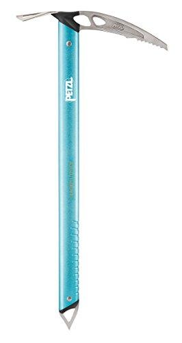 Petzl Erwachsene Eispickel Glacier Literide, Blue, 50 cm, U01B