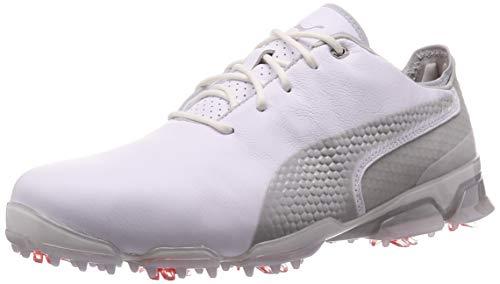 Puma Herren Ignite PROADAPT Golfschuhe, White-Gray Violet, 9.5 EU