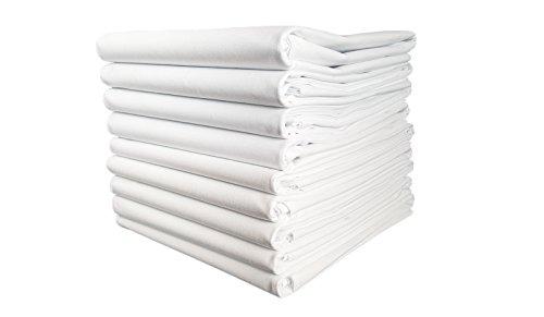 TM Maxx TischtuchBetttuch BettlakenHaushaltstuch Sommerdecke Laken in Hotelqualität⁕ 150g/m² (2) ⁕ 4 Größen⁕ gesäumt an 2 Seiten ⁕ 100% Baumwolle ⁕ ohne Gummizug (160x200 cm)
