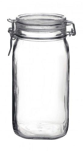 Bormioli 203437# Einmachglas mit Bügelverschluss, Original Fido, 1,5 L