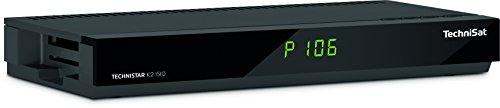 TechniSat TECHNISTAR K2 ISIO / Kabel-Receiver mit Internetfunktionalität, PVR-Aufnahmefunktion, UPnP-Livestreaming, Ethernet, schwarz