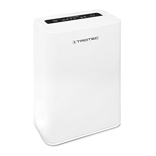 TROTEC Komfort Luftentfeuchter TTK 52 E (max.16 L/Tag), geeignet für Räume bis 78 m³ / 31 m²