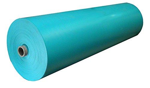 Gebo PVC Teichfolie Blau 1 mm Gartenteichfolie Türkis| Gartenteichfolie (3 x 4 m)