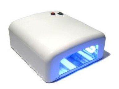 UV-Lampe WEISS 4 x 9W Lichthärtungsgerät Nails Nail art UV-Gerät 4-Röhren-System Nägel Röhre