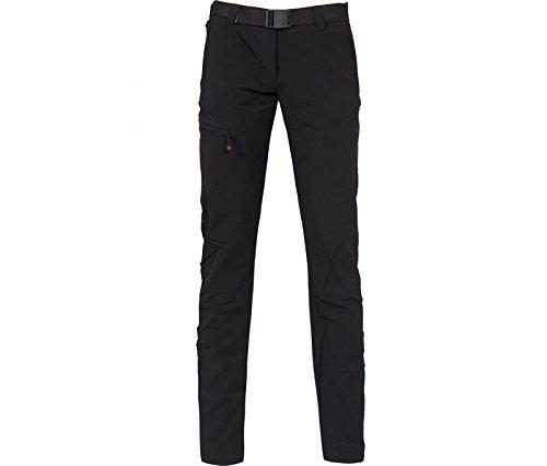 Bergson Damen Funktionshose MENA (Slim fit) - Wanderhose, Radhose, Outdoorhose -, Black [900], 38 - Damen