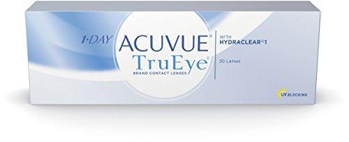 Acuvue 1-Day TruEye Tageslinsen weich, 30 Stück/BC 8.5 mm/DIA 14.2 / -2.50 Dioptrien