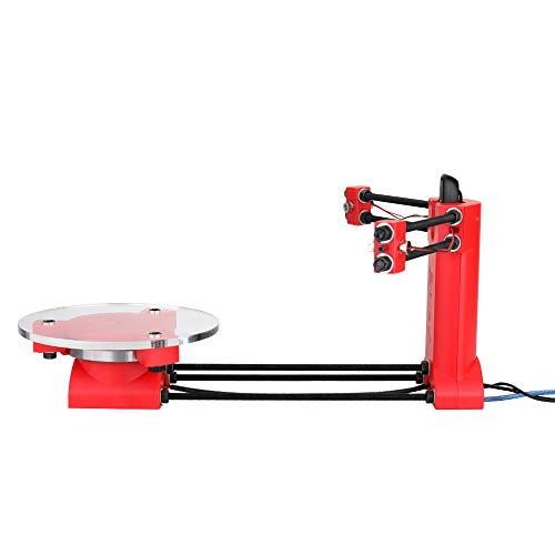 Fesjoy Docooler DIY Scanner Kit 3D Scanner Open Source Scanner Hochpräziser Desktop Basic Scanister Kit mit Multifunktionsstecker
