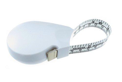 hoechstmass Balzer 85406 Rollmaßband und Umfangmaß forma, 150 cm / 60 Zoll, weiß