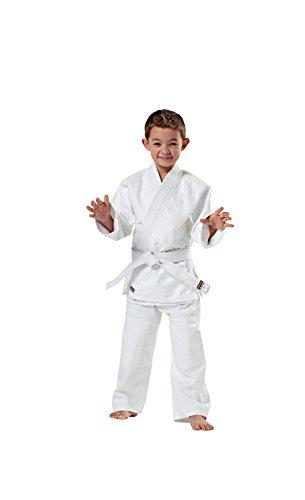 KWON Kinder Kampfsportanzug Judo Randori, weiß, 130 cm, 551312130