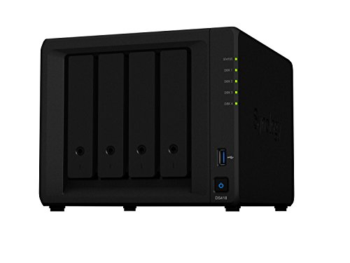 Synology DS418 4 Bay Desktop NAS Gehäuse