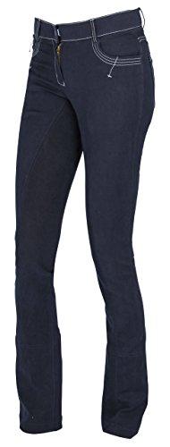 Covalliero Damen Cov.Reithose BasicPlus Jodhpur blau, Größe 40 Reithose,