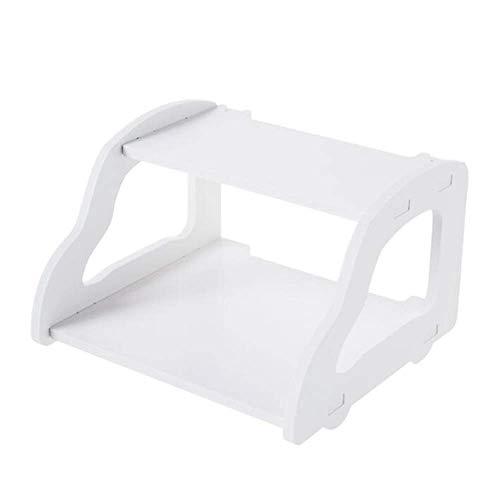 Willesego Regal-Set-Top-Box-Fräserhalterung Wandspeicher-Trennwand Splicing-Trennwand, Weiß (Farbe : -, Größe : -)