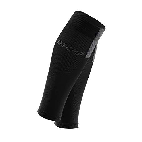 CEP - Calf Sleeves 3.0 für Herren | Beinstulpen für exakte Wadenkompression in schwarz/grau | Größe III