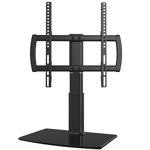 TV Standfuß TV Ständer für 27-55 Zoll OLED LCD Plasma Flach, Drehbar von -40 Grad bis +40 Grad, Max.VESA 400x400mm …