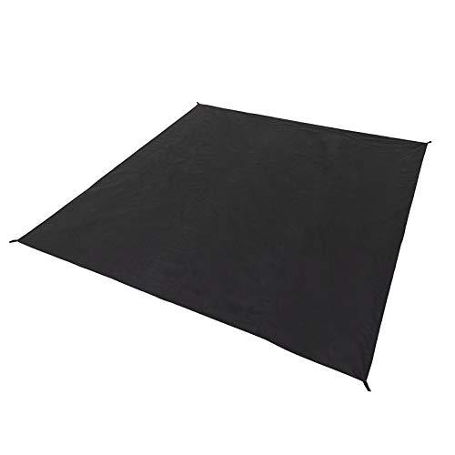 Qeedo Quick Villa 5 Zeltunterlage, Groundsheet aus Polyethylen zum Schutz des Zeltbodens