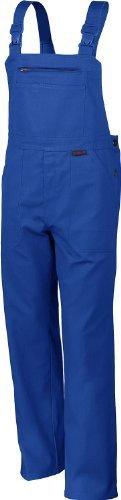 Qualitex Arbeits-Latzhose BW 270 - Größe: 64 - kornblau
