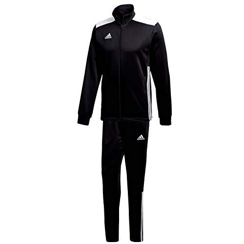 adidas Herren Polyesteranzug Regista 18 Black/White M