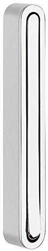 Moderner Klapphaken zum Schrauben Wand-Garderobe Paneel Kleiderhaken klappbar - H8000 | 160 x 21/156 mm | Metall silber eloxiert | MADE IN GERMANY | Möbelbeschläge von GedoTec