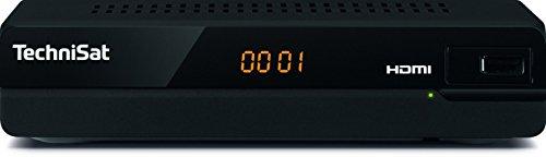 TechniSat HD-S 221 HD Sat-Receiver Einsteigermodell mit Scart, USB-Port an der Front, HDTV und HDMI, schwarz