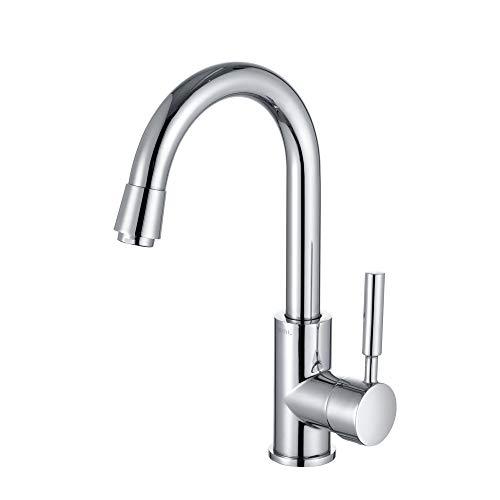 Amazon Marke: Umi. Essentials Wasserhahn 360° drehbar Armatur Bad Einhebel Mischbatterie Waschbeckenarmatur und Küchenarmatur
