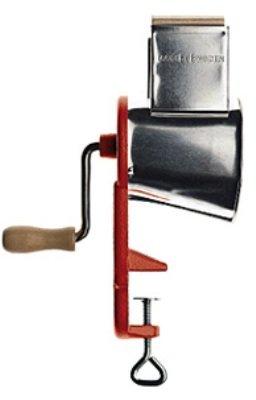 Nussmühle - mit Schraubzwinge zur Befestigung - Edelstahl - 20 cm
