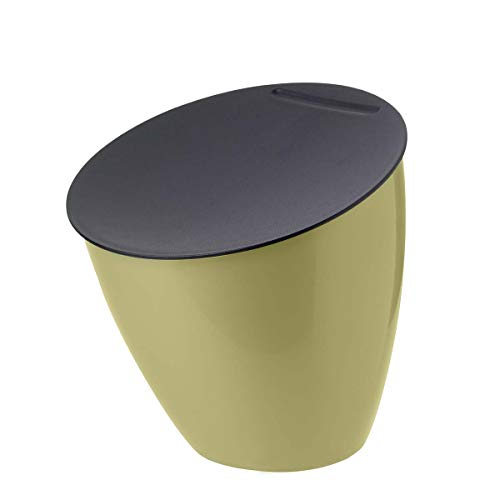 Mepal Abfallbehälter abfallbehaclter-Calypso-Nordic-Lemon, pp/abs, 0 mm