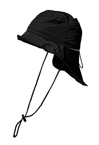 Brigg Südwester Regenhut Regenschutz Wetterschutz schwarz unisex S,M,L,XL (L 58/59)